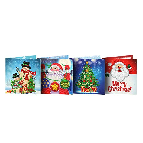 LXDDP Tarjeta felicitación Navidad Tarjeta Papel