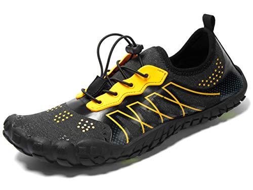 GJRRX Zapatos de Agua Unisex para Buceo Snorkel Surf Piscina Playa Yoga Deportes Acuáticos 35-47