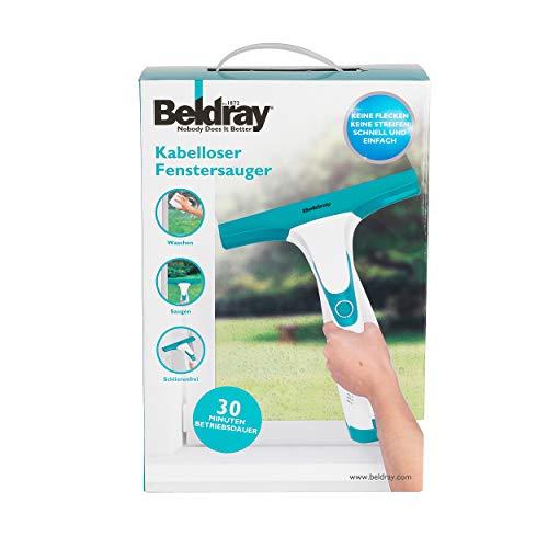 Beldray® BEL0749 Akku-Fenstersauger für Fenster, Spiegel, Fliesen, Duschabtrennungen 60 ml 10 W