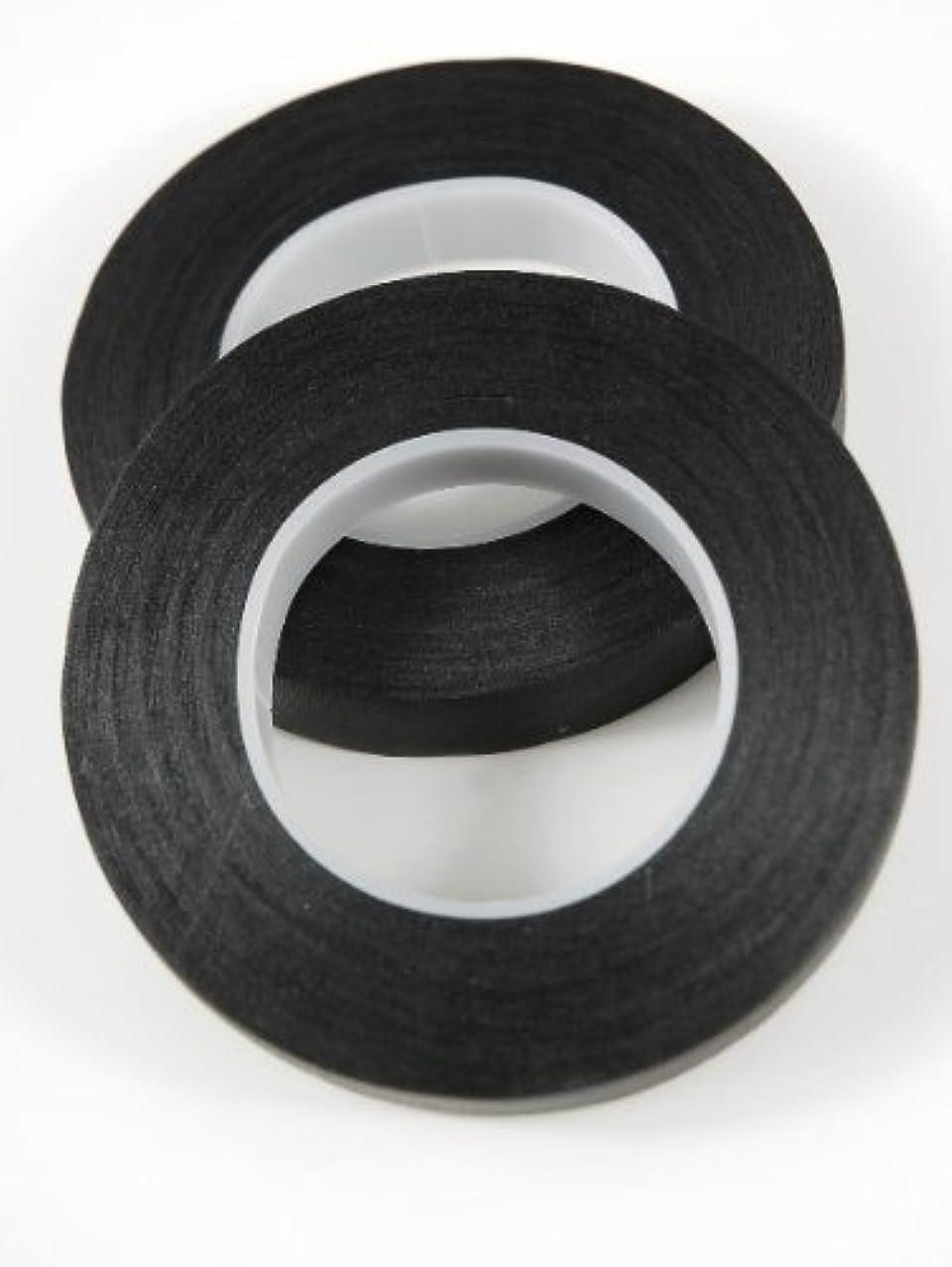 2 Pack Black Flower Tape Stem Wrap Gum Paste 1/2 X 30 Yards 180 Ft w/ Floral Crafting eGuide Bundle …