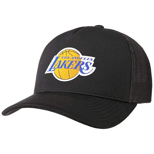 Mitchell & Ness Gorra Trucker Vintage Jersey L.A. Lakers Negro