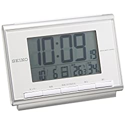 Clock Seiko (Seiko) Alarm Clock Digital Radio Clock SQ698S
