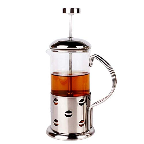 Great Deal! Nuokix Coffeepots, Coffee Press Stainless Steel Glass Filter Pot Coffee French Press Pot...