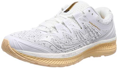 Saucony Triumph ISO 4, Zapatillas de Running Mujer, Blanco (White 40), 38 EU