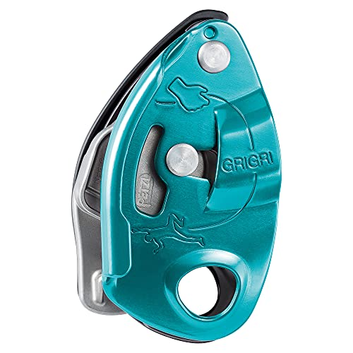 PETZL Grigri Assisted Braking Belay Device, Blue, One Size