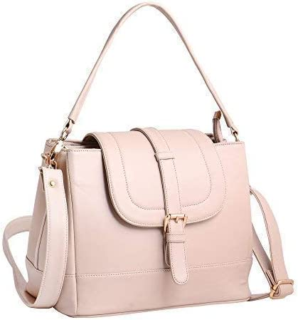 WOMEN MARKS Girls' & Women's Sling Bag (wmhhs_flap_Cream)