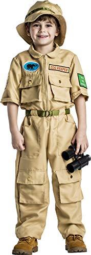Dress Up America Jungen Zoowärter-Kostüm