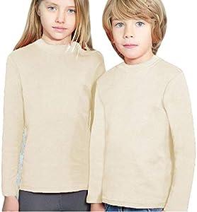 YSABEL MORA - Camiseta SEMICISNE Termal Niñas Color: Crudo Talla: 6