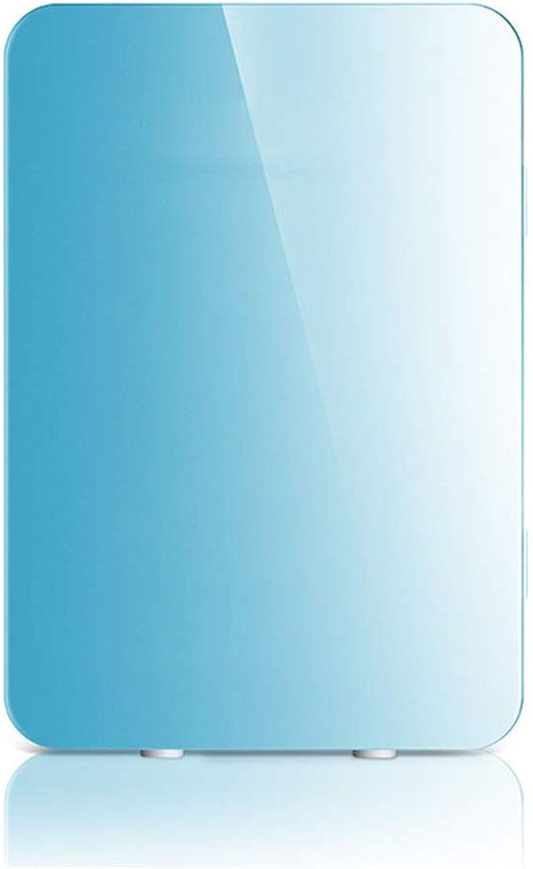 YoiGn Outdoor Sports Travel Camping und zu Hause 20 Liter AC & DC-Netzkabel Kompakter tragbarer thermoelektrischer Mini-Kühlschrankkühler und -wrmer (Farbe   Blau, Gre   33  28.5  41cm)