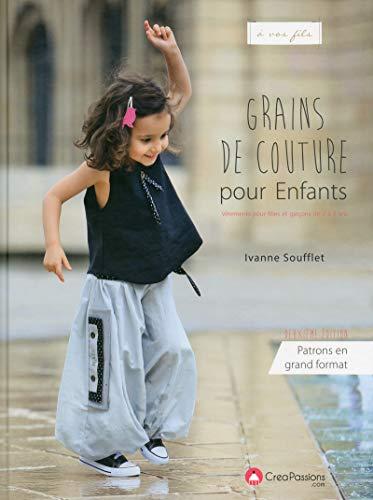 Grains de couture pour enfant, nouvelle édition - Vêtements pour filles et garçons de 2 à 8 ans