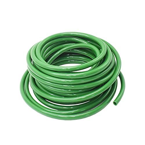 HUYING Huing929 30-10 m 4/7 8/11 mm Manguera de plástico Verde Manguito de la Manguera de riego 1/4'3/8' PUBLE PVC Flexible Ajuste...