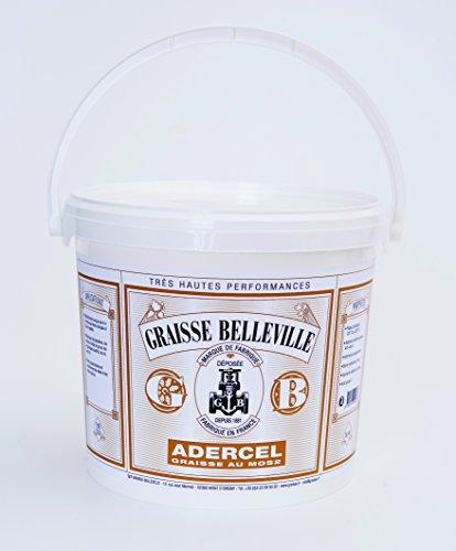 GRAISSE BELLEVILLE Bellevile ADEB500 Schmierfett, schwarz