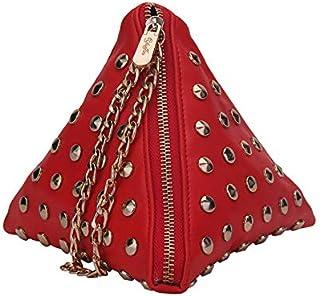 Yuejin Rivets Clutch bags YJ0754600XB Red