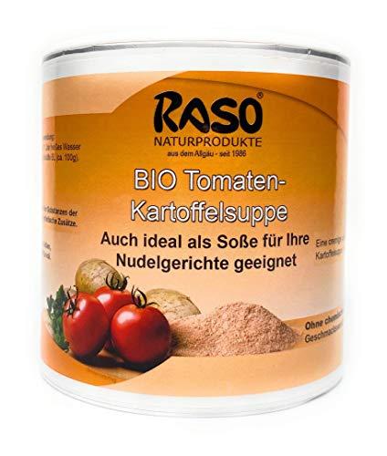 Bio Tomaten Kartoffel Suppe 250g Instant Suppe Tomaten Kartoffel Creme Suppe Pulver von RASO Naturprodukte Allgäu