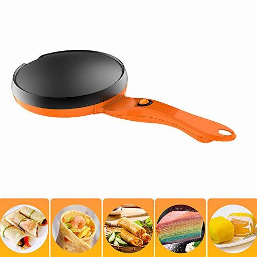 Macchina per Pancake elettrica, Crepe Maker Elettrico Antiaderente, Strumento di Cottura, per Blintzes Uova Bacon,220v