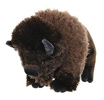 Wild Republic Bison Cuddlekins Stuffed Animal 12 inches Gift for Kids Plush Toy Fill is Spun Recycled Water Bottles