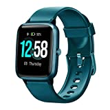 Blackview Smartwatch Orologio Fitness Uomo Donna Impermeabile 5ATM Smart Watch Cardiofrequenzimetro da Polso Contapassi Smartband Activity Tracker Bambini Cronometro per Android iOS