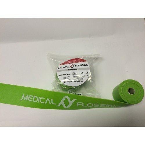 Medical Flossing Therapieband Flossband verschiedene Farben und Längen (2,13 Meter, Grün)