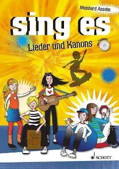 SING ES - arrangiert für Liederbuch - mit CD [Noten / Sheetmusic] Komponist: ANSOHN MEINHARD