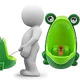 Lorcoo Orinales Infantiles Portátil Niños Frog Urinario con ventosas para Boy...