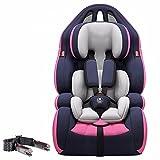 EXEDSCEND Adecuado para Todos los bebés Edad 0-12 Asiento de automóvil 360 Swivel Isofix Group 0 + / 1/2/3 (cojinete de Carga 0-36 kg), Asiento de Seguridad Infantil Universal portátil
