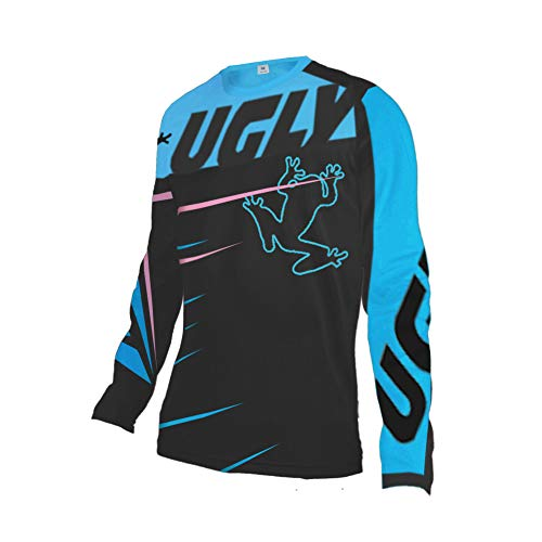 UGLY FROG Uglyfrog Mujer MTB Manga Larga Downhill Jersey De Descenso Bicicleta De Primavera&otoño MontañalMaillots Deportes y Aire Libre SJFWH01