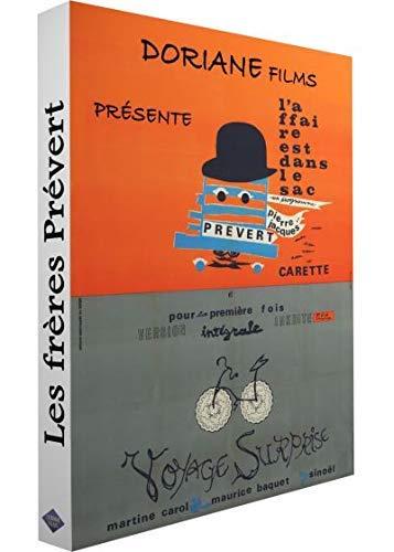 Jacques Prévert Collection ( L'affaire est dans le sac / Voyage surprise / Paris la belle / Paris mange son pain / Le petit Claus et le gran [ Origen Francés, Ningun Idioma Espanol ]