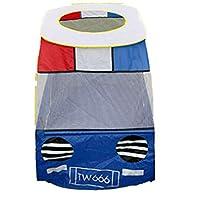 yotijar テントの簡単なセットアップを再生軽量耐久性のある子供プレイハウス屋内屋外おもちゃ