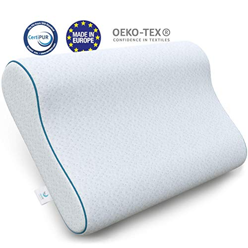 Dreamzie - Ergonomic Memory Foam Pillow and Orthopaedic Pillow (60 x...