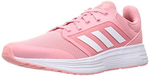 adidas Galaxy 5, Zapatillas de Running Mujer, SUPPOP/FTWBLA/Rojsol, 36 2/3 EU