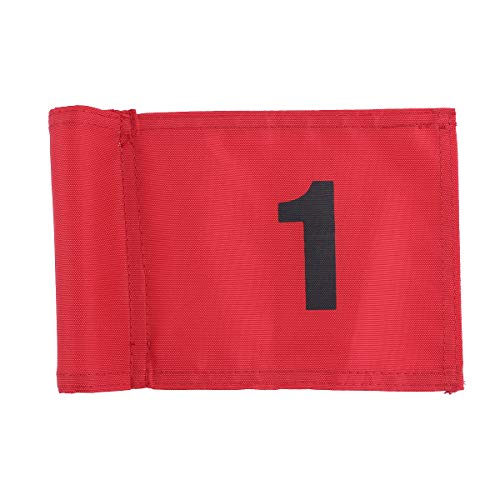 Buy LIOOBO Golf Flag Practice Number 1 Golf Flags Traning Golf Putting Flags Portable Golf Target Fl...