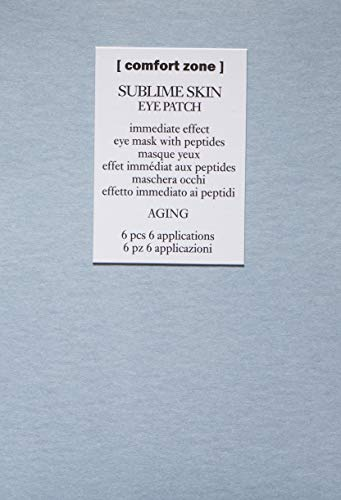 [ comfort zone ] Sublime Skin Eye Patch, Eye Mask with Peptides, 6 Count