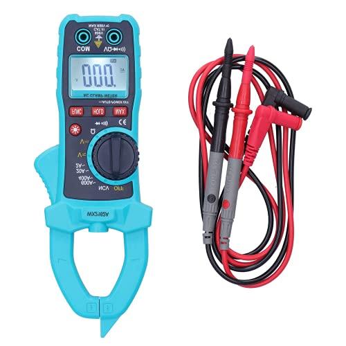 Xirfuni Pinza amperometrica Digitale, Pinza amperometrica Portatile, Tester per diodi di Resistenza, con Display LCD, Supporto intervallo Automatico,