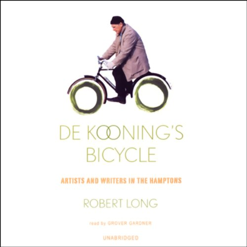De Kooning's Bicycle audiobook cover art