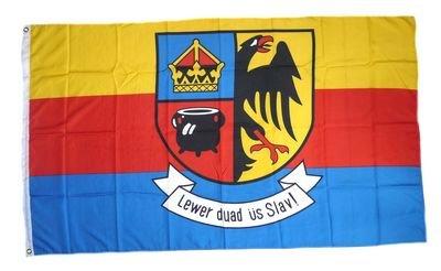 Fahne / Flagge Nordfriesland Schrift NEU 90 x 150 cm
