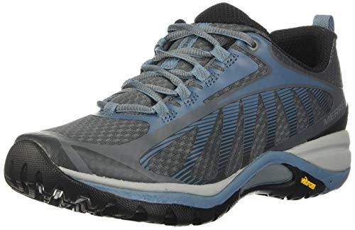 Merrell womens Siren Edge 3 Hiking Shoe, Rock/Bluestone, 6.5 Wide US