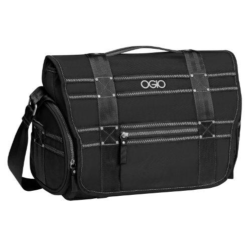 OGIO Monaco Messenger Bag, Large, Black
