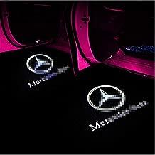 Suitable for Mercedes-Benz C-class welcome lights W204 C180 C200 C300 door logo lights Laser lights decorative lights atmosphere lights