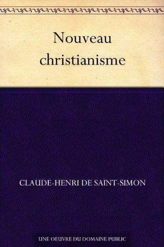 Couverture du livre Nouveau christianisme