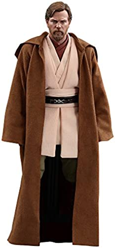 Hot Toys Star Wars  Episode III  Revenge of The Sith Obi-Wan Kenobi ( Deluxe Version) 1 6 Scale Movie Collectible Figure