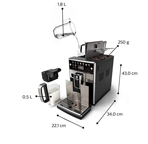 Saeco – Cafetera (Independiente, Máquina espresso, 1,8 L, Granos