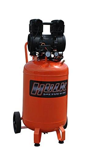 2 HP Quiet Portable Air Compressor, 125 PSI, 20 Gallon, HULK Silent Series, Model HP02P020SS by EMAX Compressor