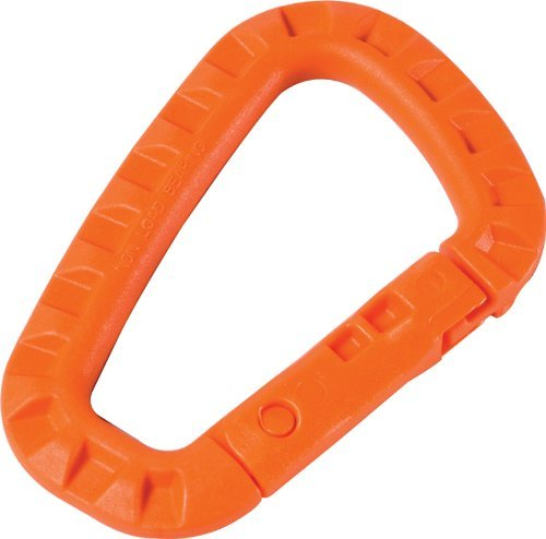 Acme Approved Tac-Link Orange Tactical mil spec MOLLE Carabiner | for Tactical Gear, Military, Outdoor Use.
