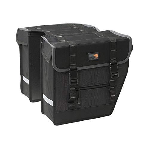 New Looxs Superior Midi dubbele tas, zwart, 27 l