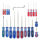 Shop Kobalt 20-Piece Variety Pack Screwdriver Set at Lowes.com