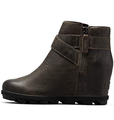 Sorel - Women's Joan of Arctic Wedge II Buckle Ankle Boot, Quarry, 7 M US
