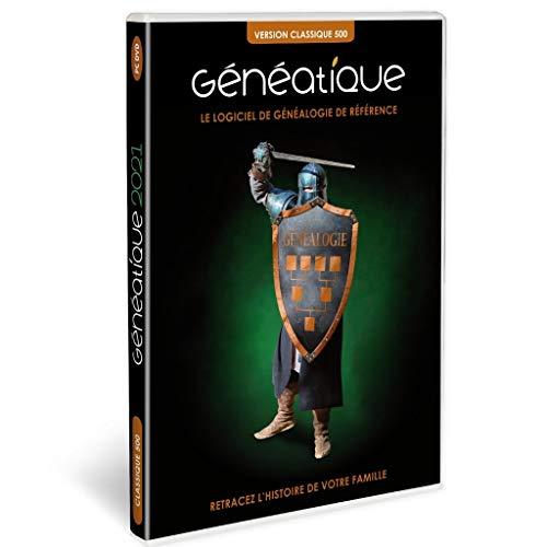 GENEATIQUE 2021 Classique 500 en Coffret pour Vos Arbres généalogiques