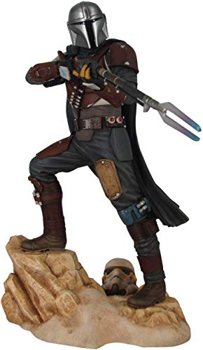 Gentle Giant Star Wars Premier Collection: The Mandalorian MK1 Statue, Multicolor, 5 inches