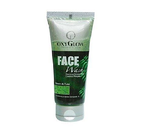Soins & Neem Tulsi de OxyGlow Nature Face Wash Supprime Oil & contrôle boutons 100ml