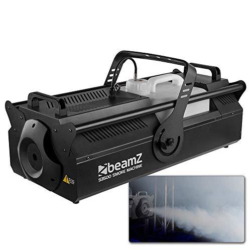 BeamZ 160.498 - Máquina de humo (3500 W, 220-240 V, 50 Hz, 310 mm, 700 mm, 260 mm)